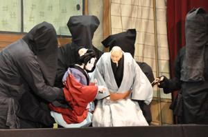 古田人形芝居地元公演0715