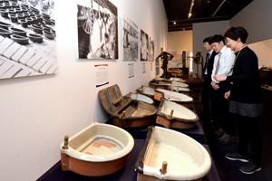 180125蚕糸博で鍋、語る展