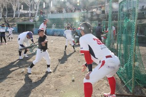 グランセローズ野球教室