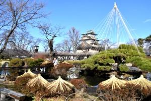 高島公園冬支度