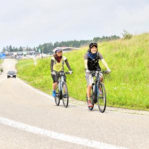 小口さん自転車②