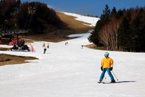 スキー場きょう本オープン