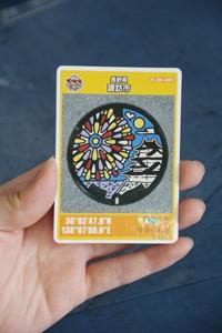 マンホールカード人気 のコピー