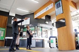 下諏訪駅完成200326