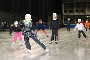 HPスケートセンター開場