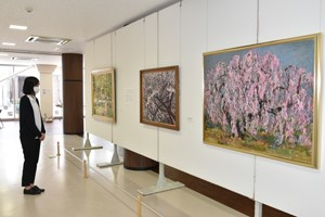 HP考古館花の展示写真
